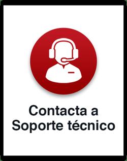 Contacta a soporte técnico
